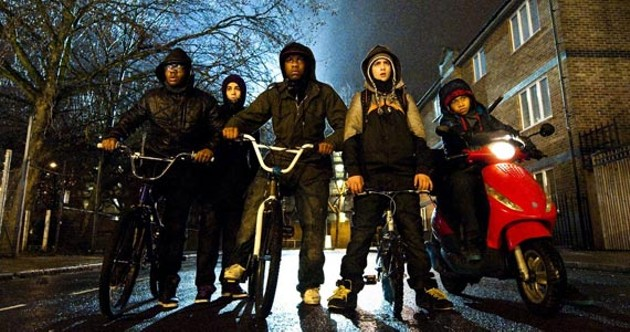 Attack the Block's bicycle thugs in harmony.