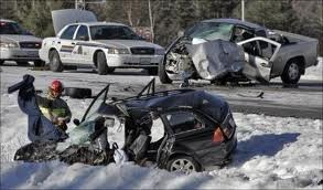 Bad crash on NS highway 103