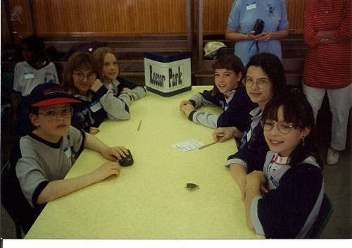 Battle of the Books, 1995, Team James and the Giant Peach.