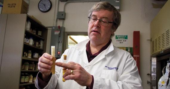 Beer scientist Alex Speers. - COURTNEY KELSEY