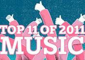 Best music of 2011