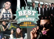 Best of Halifax Music Awards 2014