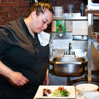 Beth Muise, head chef at The Press Gang, creates a Titanic meal with a twist.