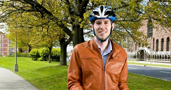 Bike Again!'s Mr. Fix-It, Don McCrimmon. - ANGELA GZOWSKI