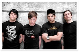 Billy bobs Billy Talent bring their coiffed rock to town this weekend.