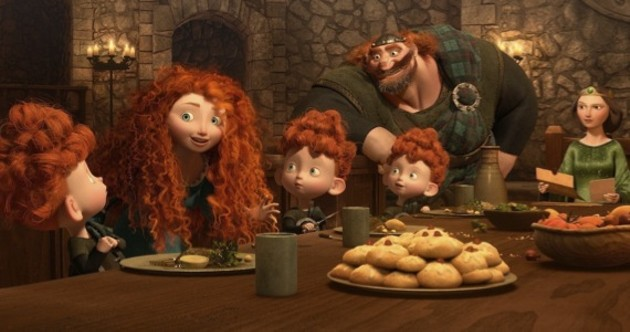 Brave features gingers with snappy dialogue