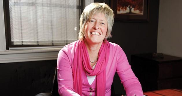 Brenda MacKenzie knows Halifax property inside and out. - ANGELA GZOWSKI