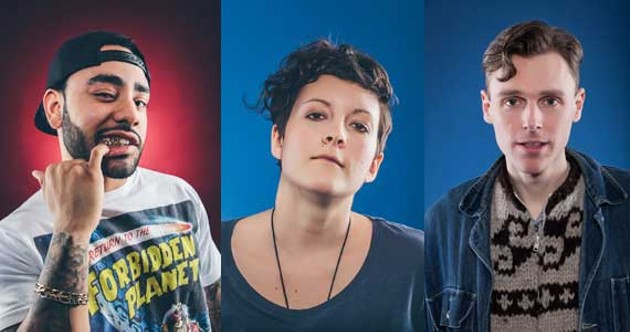 Cam Smith, Ria Mae and Joel Plaskett: The power of three. - SCOTT BLACKBURN