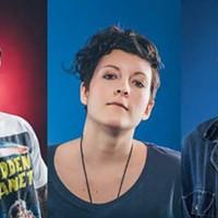 Cam Smith, Ria Mae and Joel Plaskett: The power of three.