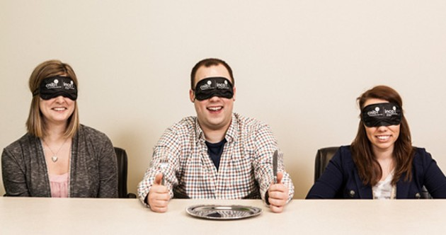 Challenge your senses by Dining in the Dark with CNIB - RILEY SMITH