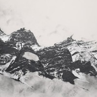 Charley Young, Rocky Mountains Diorama (detail), 2014
