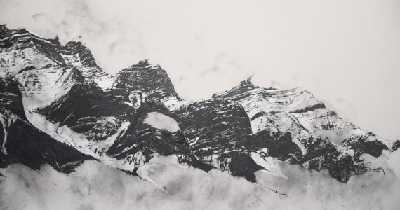 Charley Young, Rocky Mountains Diorama (detail), 2014 - COURTESY OF THE ARTIST