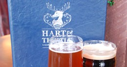 Check out Hart & Thistle for one of award-winning brewmaster Greg Nash's strong, flavourful ales.