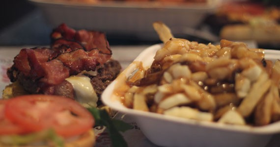 Cheese Curds is just poutine it out there.