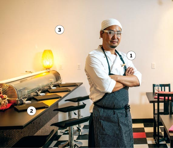 Chef Alex Oh wants to feed you - PHOTO BY RILEY SMITH