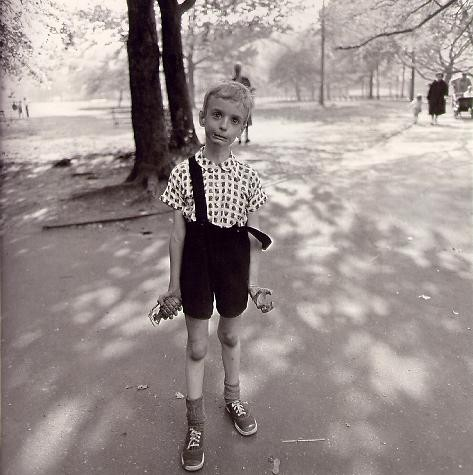 Child with Toy Hand Grenade in Central Park, 1962