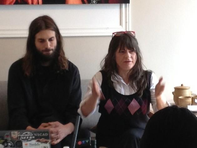 Chris Enns and Sherri Reeve discuss Enns' arrest.