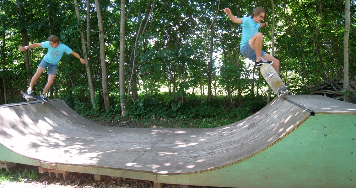 Cole Wood of Winnipeg's Cannon Bros, flippin and rippin - ADRIA YOUNG