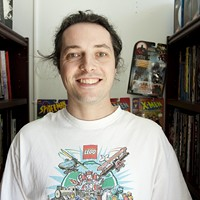 Comic relief Mike Crossman sees opportunities for new comic distributors.