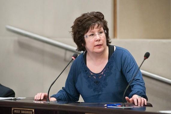 Councillor Jackie Barkhouse