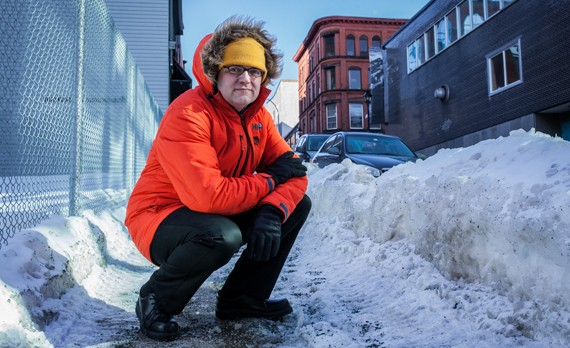 """Councillor Mason: The city needs to """"make sure the standards are met"""" for ice-clearing. - RILEY SMITH"""