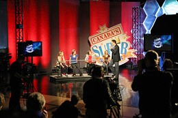 Crying spell CBC's Canada's Super Speller is hosted by a guy who can't spell. photo Julé Malet-Veale