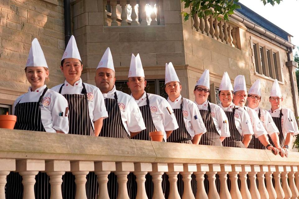 Culinary Team Canada with our own Luis Clavel, fourth from the left