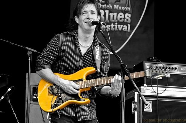 Dan Doiron at the Dutch Mason Blues Fest