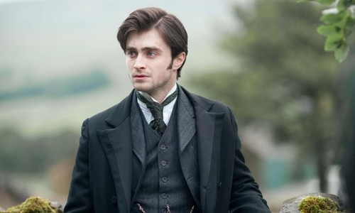 Daniel Radcliffe dresses up for his first adult film role.