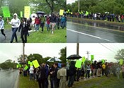 Dartmouth students protest Metro Transit plans