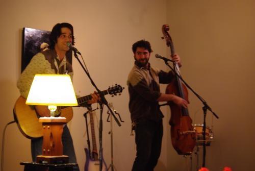 David Celia and Kev Corbett