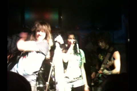 Diemonds at the Toothy Moose through beer goggles
