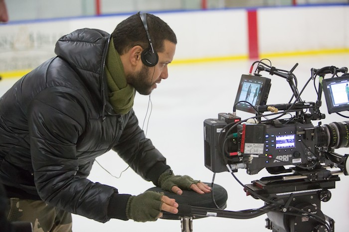 Director X on the set of the feature Undone, filmed on location in Nova Scotia. - DAN CALLIS