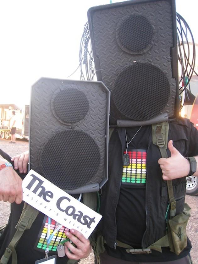 DJs Moldylox and Rekkid Bitch