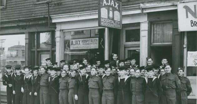 Dolly McEuen's famed Ajax Club. - COURTESY OF NOVA SCOTIA ARCHIVES, HALIFAX, NS