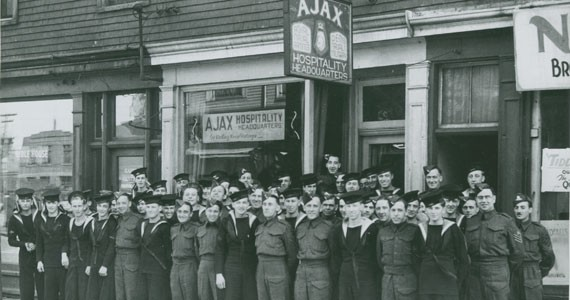 Dolly McEuen's famed Ajax Club. - COURTESY OF NOVA SCOTIA ARCHIVES, HALIFAX, NS