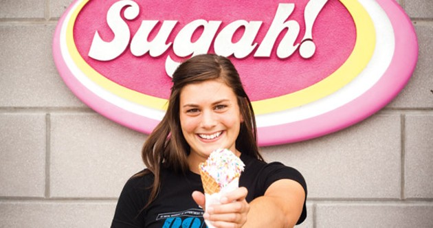 Don't waffle---take a break at Sugah! - MEGHAN TANSEY WHITTON