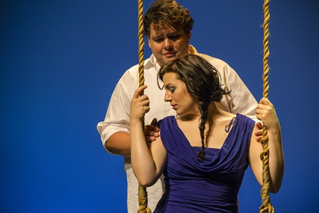 Dvořák's Rusalka plays from August 8 to the 16 at the Dunn. - ALL PHOTOS: MJ PHOTOGRAPHICS
