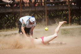 Dykes vs Divas Softball