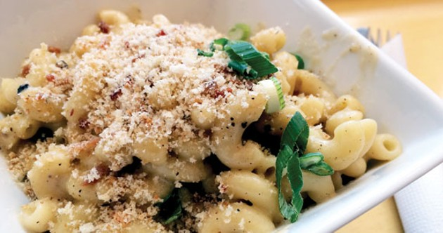 Eats! specialty side is this slightly smoky, smooth and creamy mac and cheese.