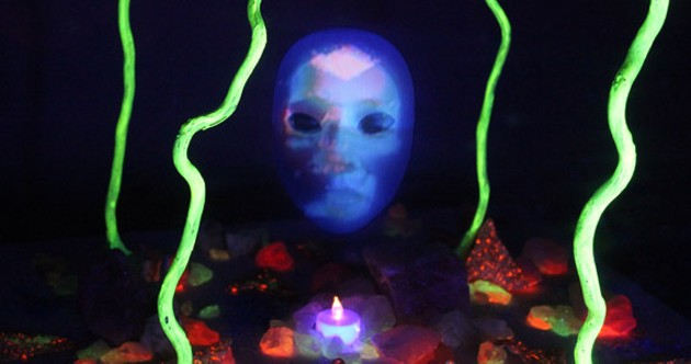 "Emily Pelstring, ""Feminist Sanctorium,"" video sculpture (2015) - COURTESY THE ARTIST"