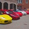 Ferraris roll into town