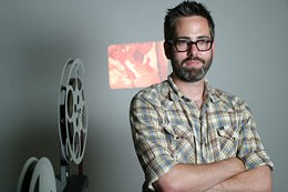 Film rep Shaun Schmeisser wants a rep theatre in Halifax, even if it isn't Paradise. photo Julé Malet-Veale