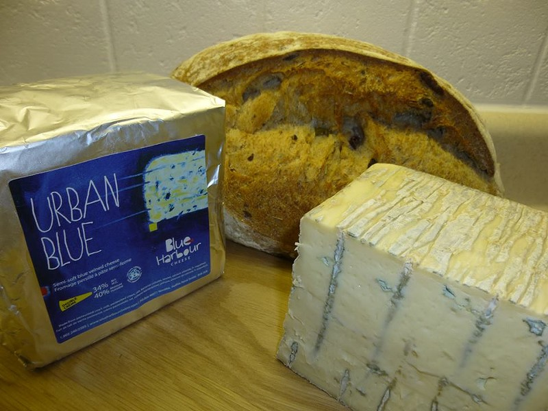 Findlay's debut cheese, Urban Blue