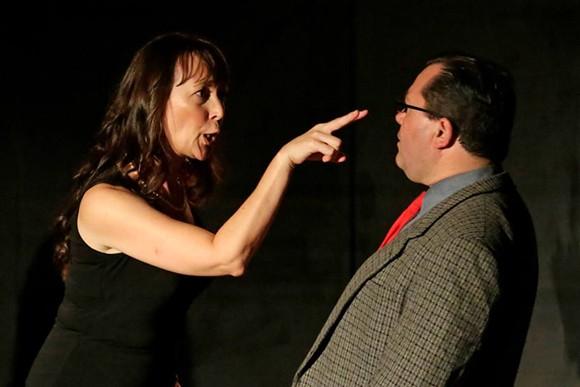 Fiona Kirkpatrick Parsons takes on Rob McIntyre in The Department of Common Sense. - DEVAAN INGRAHAM