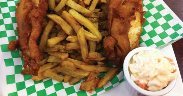 Fish and chips are the star staple at Willman's. - KRISTEN PICKETT