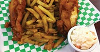 Fish and chips are the star staple at Willman's.
