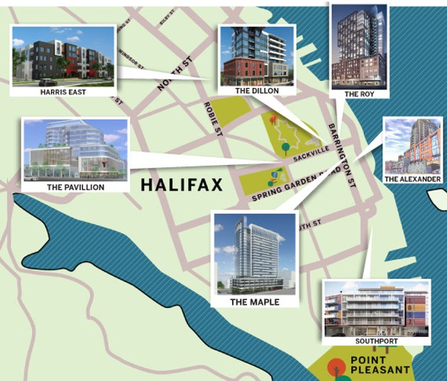 For more on residential developments coming online in Halifax's near future, see our interactive map below.