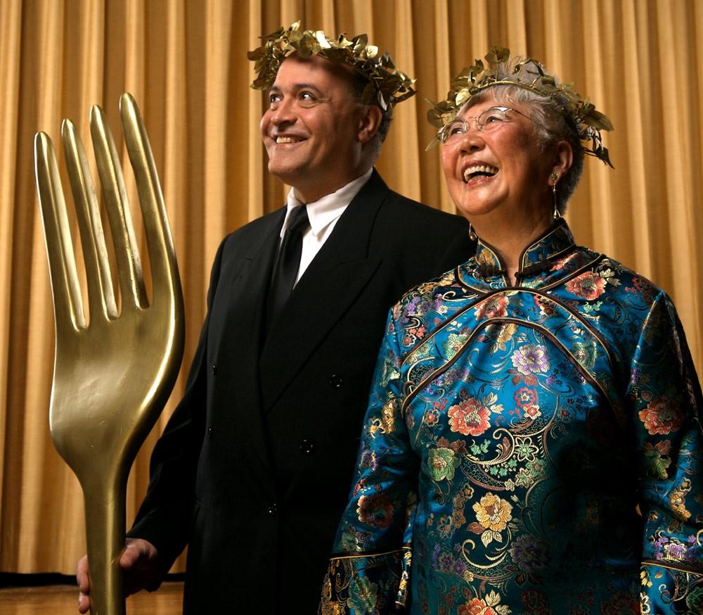 From left: Ray Khattar and Mary Mohammed. photo Scott Munn