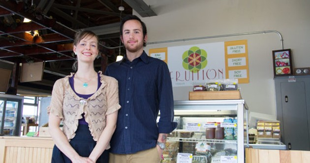 Fruition's Jessie Doyle and Seth Graham. - ALYSON HARDWICK